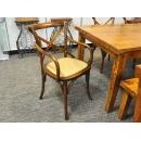 y12086 傢俱系列-其他-橡木扶手椅(咖色)
