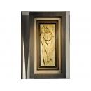 y12089 立體壁飾-波麗壁畫-鳶尾花
