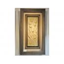 y12090 立體壁飾-波麗壁畫-鬱金香