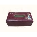 y12126 比得兔系列-鱷魚皮革系列-鱷魚皮刺繡面紙盒/酒紅