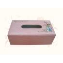 y12128 比得兔系列-鱷魚皮革系列-鱷魚皮刺繡面紙盒/粉色