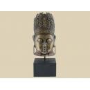 y12141 中式人物-佛頭藝品擺飾