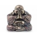 y12146 中式人物-笑彌勒盤坐合掌擺飾