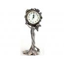 希臘風仕女捧鐘 y12150 時鐘.溫度計.鏡子 桌鐘