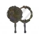 鏡中園 y12160 時鐘.溫度計.鏡子 鏡子 -Art-Deco系列_鏡中園