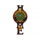 瓢蟲男孩 (女孩)壁掛鐘  y12179 時鐘.溫度計.鏡子 溫度計.壁掛鐘