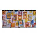 y12245-油畫-抽象-繽紛方塊