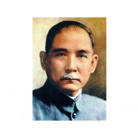 國父遺像-y12286-肖像人物訂製