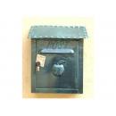 y12294 金屬工藝品 蘋果信箱 鏽綠色 #022
