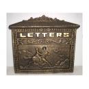 y12296 金屬工藝品 騎士信箱 古銅色 #36