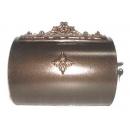 y12298 金屬工藝品 半圓信箱 古銅色 #44