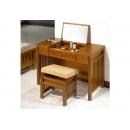 y12301 傢俱臥室 魯娜3.2尺柚木兩用化妝台(含椅) (548-2)