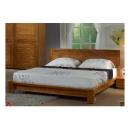 y12302 傢俱臥室 布萊迪5尺胡桃雙人床(不含床墊) (545-5)