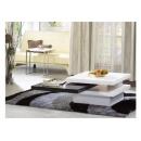y12306傢俱客廳 旋舞旋轉黑白方几 茶几 桌(726-1) 無庫存