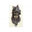 y12399 威尼斯面具壁掛-百合花