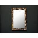 鏡面拼貼 貝殼鏡 y12408-時鐘.溫度計.鏡子 鏡子鏡面拼貼 貝殼鏡-黑(另有白色款)(B03X227)--補貨中