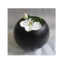y12447花藝設計-小品盆花-大圓球花藝(另有亮面款)