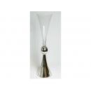 y12493 透明玻璃花器花瓶-大款AB012 (另有小款AB013)